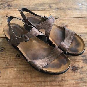 NAOT 42 US 11 Rhinestone Sandals Shoes